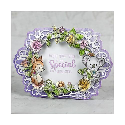 Birthday Floral Ring