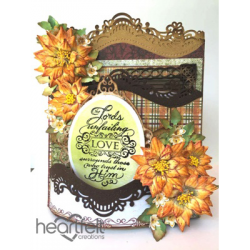 Blooming Sunflowers Foldout Card