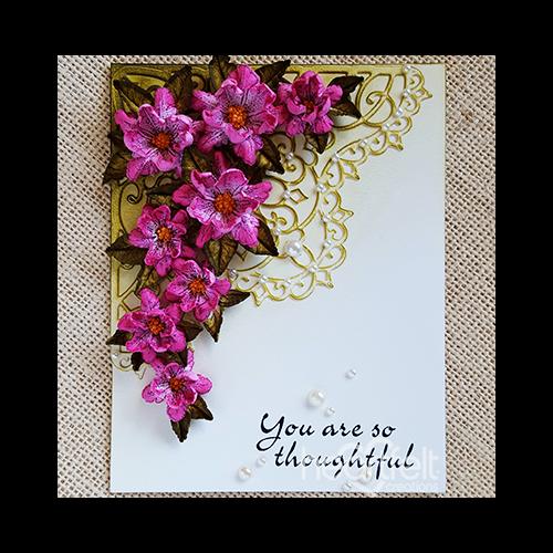 Blossoming Corner Card