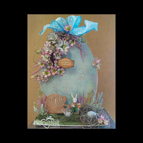 Blossoming Easter Egg