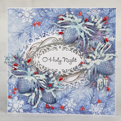 Blue Snowy Pines