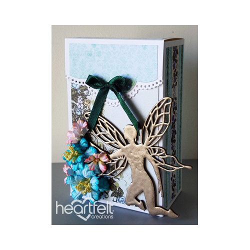 Blushing Rose And Fairy Gift Box