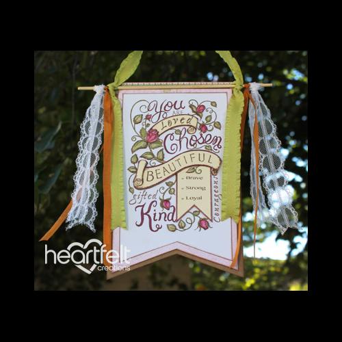 Blushing Rose Background Banner