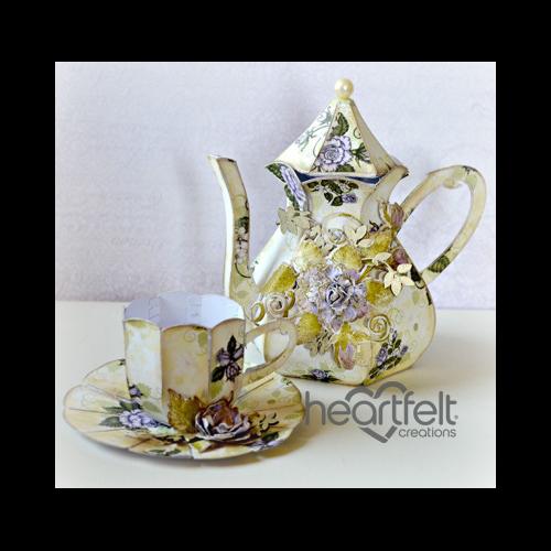 Blushing Rose Tea Set