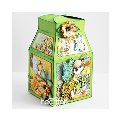 Boxed Honey Bees