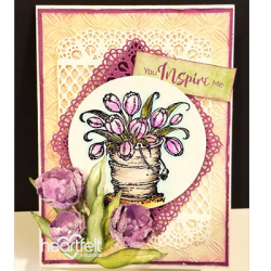 Bucket of Inspiring Tulips