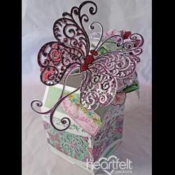Butterfly Vase