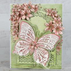 Butterfly Hugs Floral