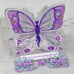 Butterfly on Vellum