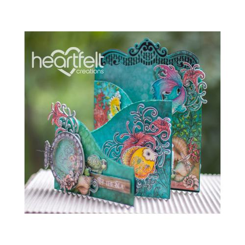 By The Sea Foldout Card