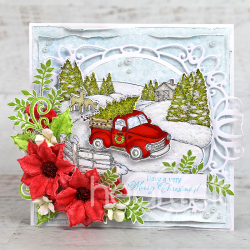 Christmas Wishes Pocket