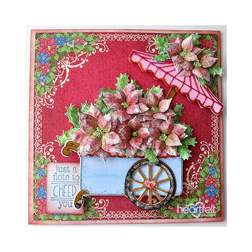 Cheerful Flower Cart
