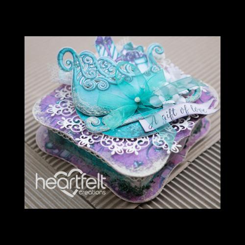 Christmas Sleigh Gift Box
