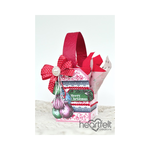 Christmas Tag Gift Basket