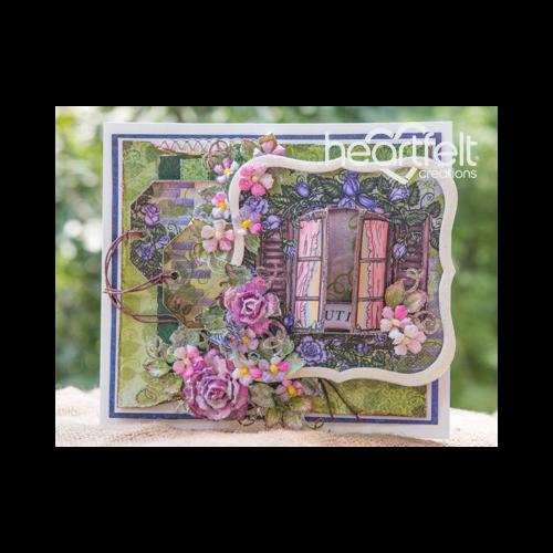 Classic Rose Purple Window