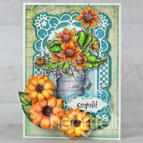 Congratulating Sunflowers