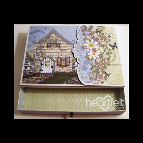 Cottage Flip Fold Album Box