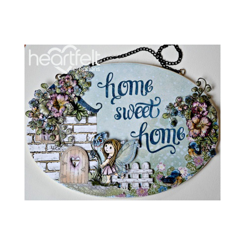 Cottage Home Sweet Home Wall Hanging