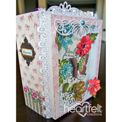 Daisies And Butterfly Flip Fold Album