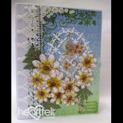 Daisy And Peacock Flip Fold Album