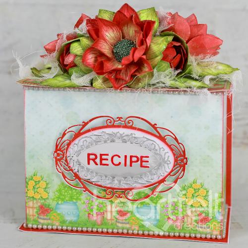 Dahlia Recipe Box