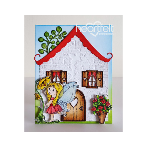 Dancing Fairy Cottage Card