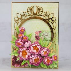 Decorative Sweet Peonies