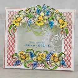 Delightful Daffodil Frame