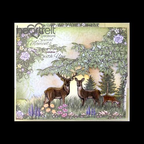 Deer Trio Scene Special Moments