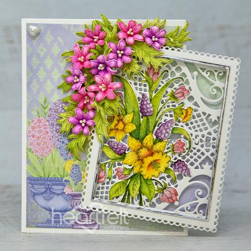 Delicately Framed Floral