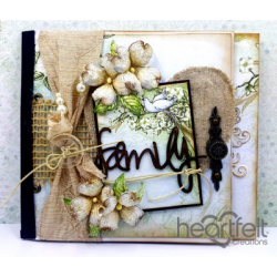 Dogwood Family Flip Fold Album
