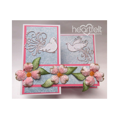 Dogwood And Doves Easter Card