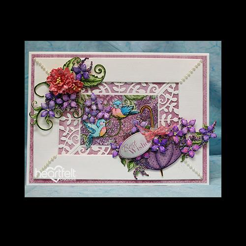 Double Framed Lilacs