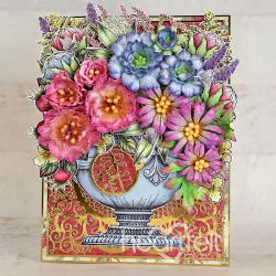 Elegant Floral Shoppe Urn