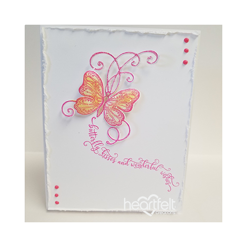 Elegant Butterfly Wishes