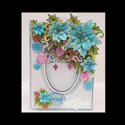 Elegant Poinsettias