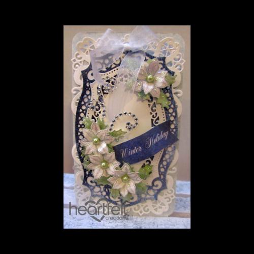 Elegant White Poinsettias