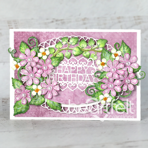 Eyelet Birthday Floral