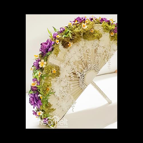 Fabulous Floral Fan