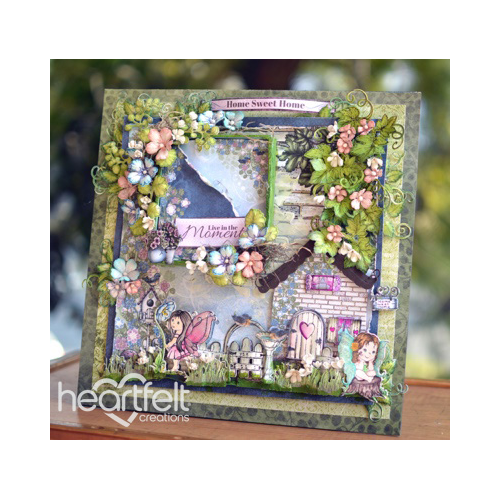 Fairies And Flowers Scene Layout