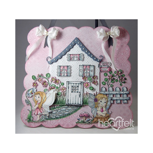 Fairy Cottage Wall Hanging