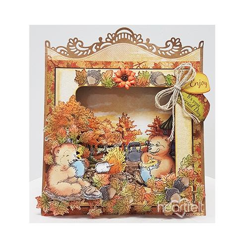 Fall Scene Shadow Box