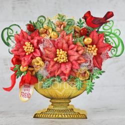 Festive Christmas Floral Bouquet