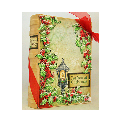 Festive Holly Book