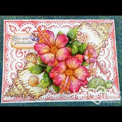 Fintastic Hibiscus Seashells