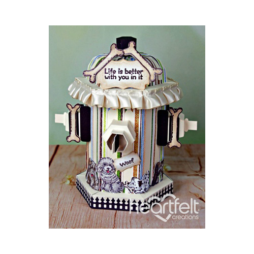 Fire Hydrant 3D Gift Box