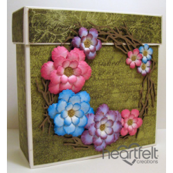 Floral Twig Frame Gift Box