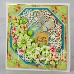 Floral Birthday Wishes