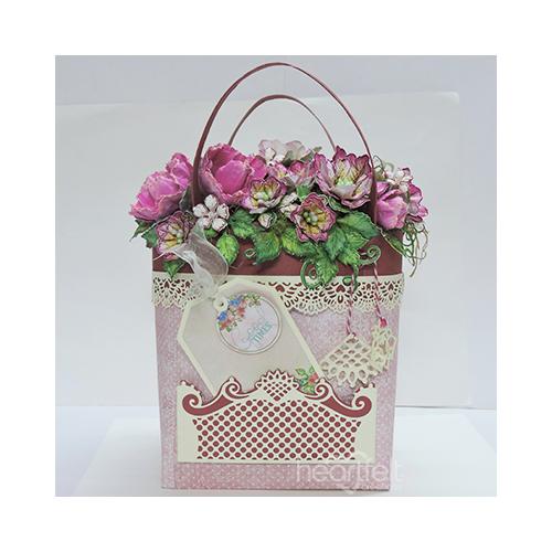 Floral Arrangement Gift Basket