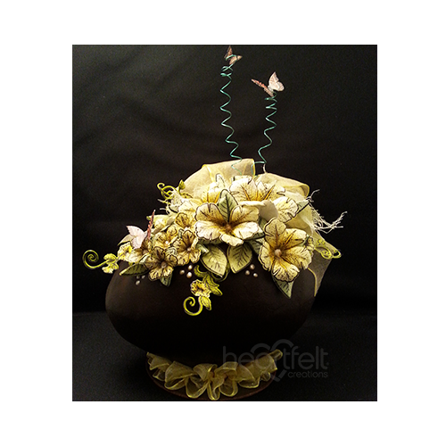 Floral Chocolate Egg